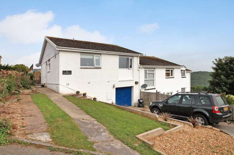 3 Bedrooms Semi Detached House for sale in Goonrea, Looe