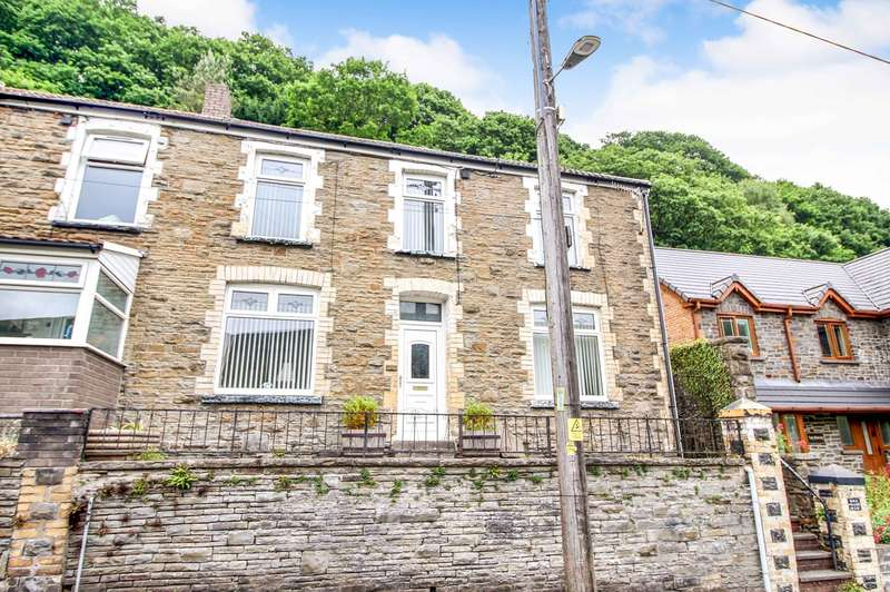 3 Bedrooms End Of Terrace House for sale in Tredegar Road, New Tredegar, NP24