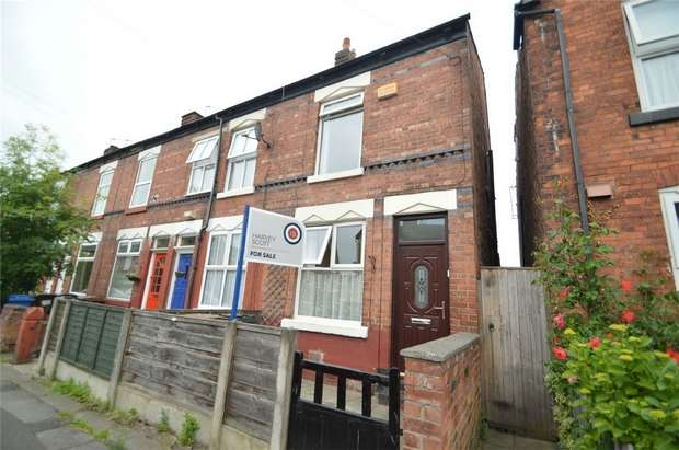 2 Bedrooms End Of Terrace House for sale in Warren Road, Cale Green, Stockport, Cheshire