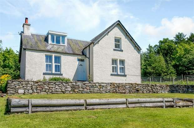 4 Bedrooms Detached House for sale in Enochdhu, Blairgowrie, Perth and Kinross