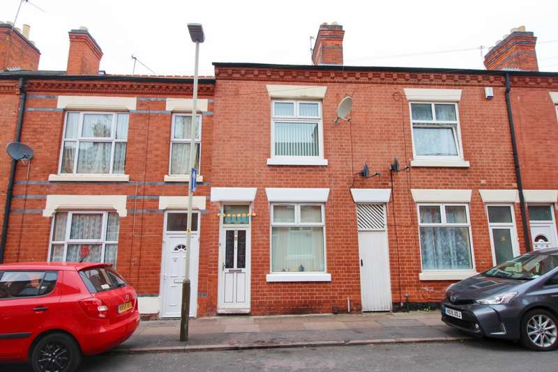 3 Bedrooms Terraced House for sale in Moores Road, Belgrave, LE4