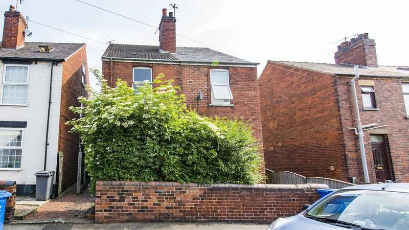 3 Bedrooms Semi Detached House for sale in Holland Road, Old Whittington, Chestefield S41