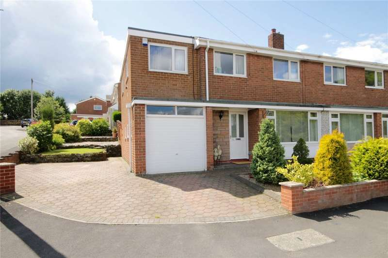 4 Bedrooms Semi Detached House for sale in Kitswell Road, Lanchester, County Durham, DH7