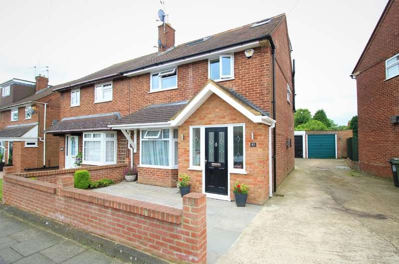 4 Bedrooms Semi Detached House for sale in Adeyfield, Hemel Hempstead