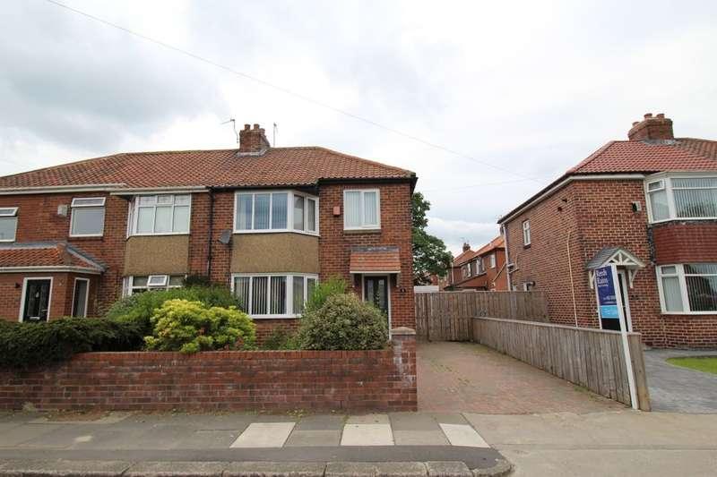 3 Bedrooms Semi Detached House for sale in Crawley Avenue, Hebburn, NE31