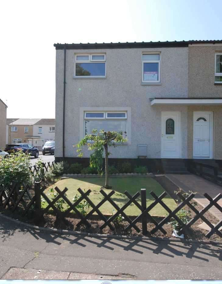 3 Bedrooms End Of Terrace House for sale in Garnock Road, Stevenston