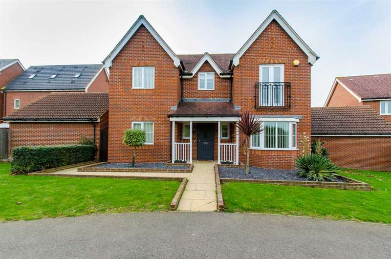 4 Bedrooms Detached House for sale in Snowdrop Walk, Sittingbourne