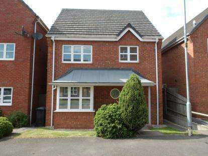 3 Bedrooms Detached House for sale in Kay Close, Coalville