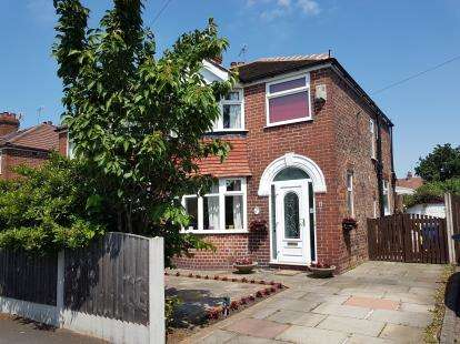 3 Bedrooms Semi Detached House for sale in Crofton Avenue, Timperley, Altrincham, Greater Manchester