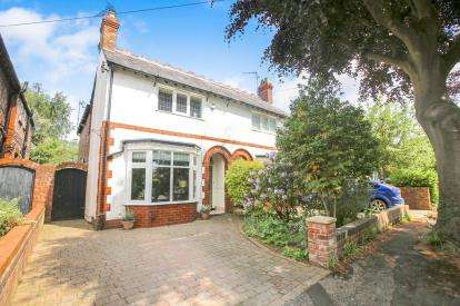 3 Bedrooms Semi Detached House for sale in Bridgefield Avenue, Wilmslow, Cheshire, .