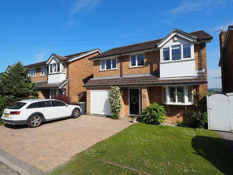 4 Bedrooms Detached House for sale in Leygate View, New Mills, High Peak, Derbyshire, SK22 3EF
