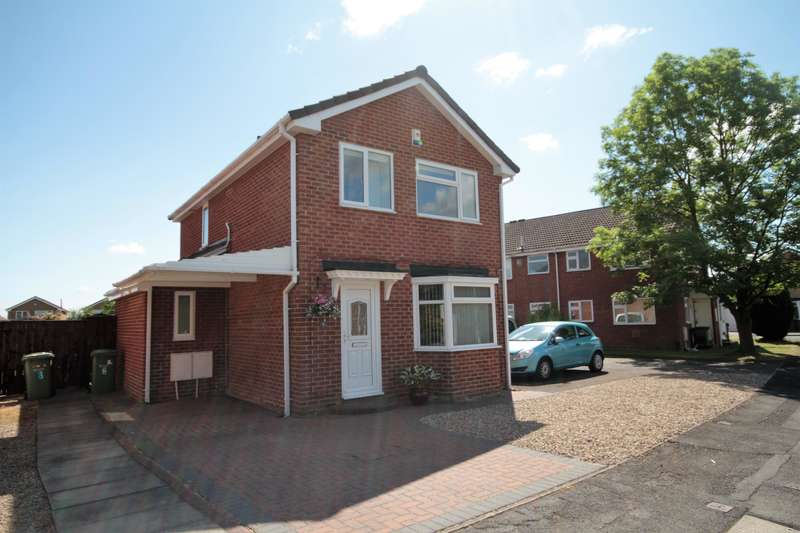 3 Bedrooms Detached House for sale in Beccles Close, Stockton-on-Tees, TS19 0XB