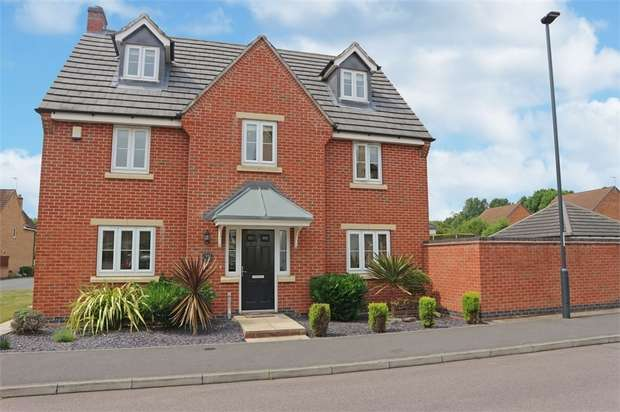 5 Bedrooms Detached House for sale in Montague Way, Chellaston, Derby