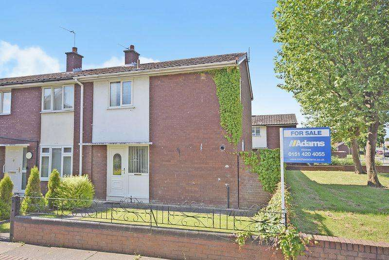 2 Bedrooms End Of Terrace House for sale in Brandon, Widnes