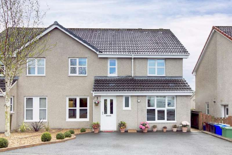 4 Bedrooms Semi Detached House for sale in Montgomery Crescent, Dunblane, FK15