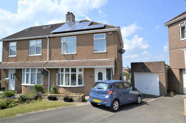 3 Bedrooms Semi Detached House for sale in Kirkdale Gardens, Plymouth, Devon