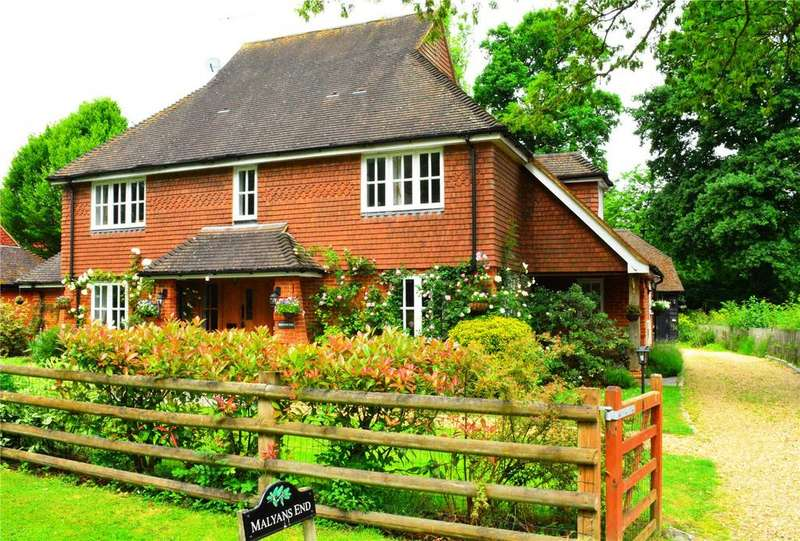 5 Bedrooms Detached House for sale in Coombe Lane, Worplesdon, Guildford, Surrey