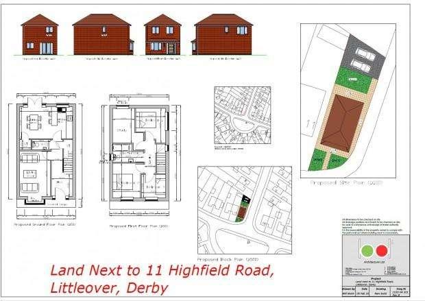 Land Commercial for sale in Highfield Road, Littleover, Derby, DE23