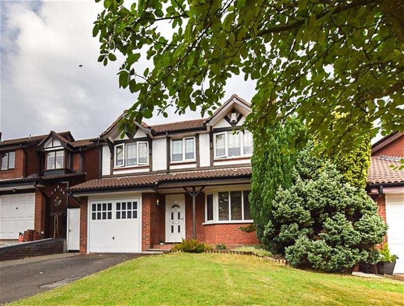 4 Bedrooms Detached House for sale in Dunham Road, Dukinfield