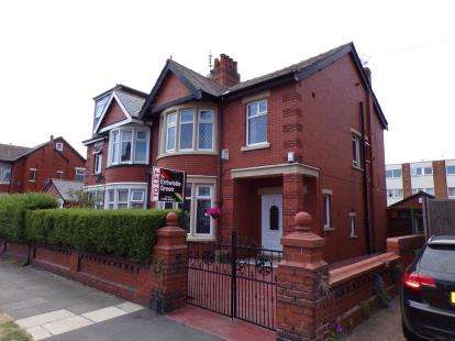 3 Bedrooms Semi Detached House for sale in Knowsley Avenue, Blackpool, Lancashire, FY3