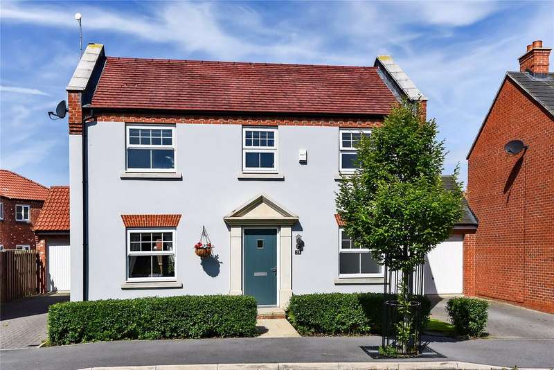 4 Bedrooms Detached House for sale in Buttercup Way, Witham St Hughs, LN6