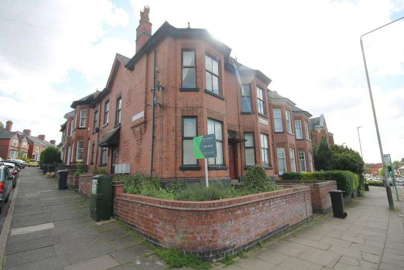 1 Bedroom Flat for sale in 190 Hinckley Road, West End, Leicester LE3