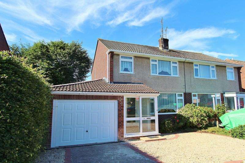 3 Bedrooms Semi Detached House for sale in Hurn Lane, Keynsham, Bristol