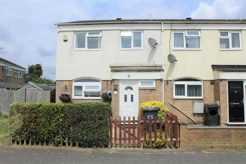 3 Bedrooms End Of Terrace House for sale in Newchurch Road, Slough, Berkshire