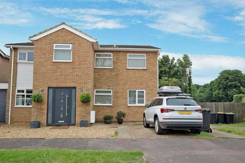 4 Bedrooms Link Detached House for sale in Dove House Close, Bromham