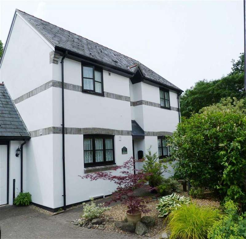 3 Bedrooms Detached House for sale in Gardd Afon, 8, Maes Yr Efail, Llanbrynmair, Powys, SY19