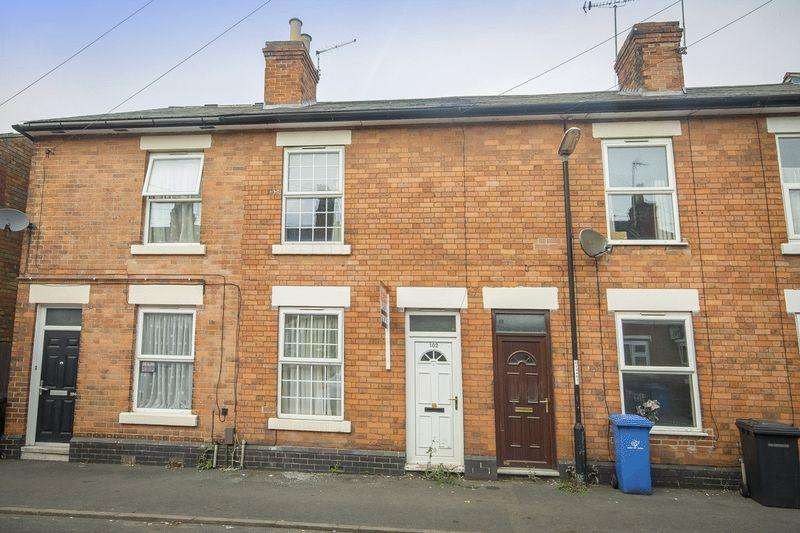 2 Bedrooms Terraced House for sale in RANDOLPH ROAD, DERBY