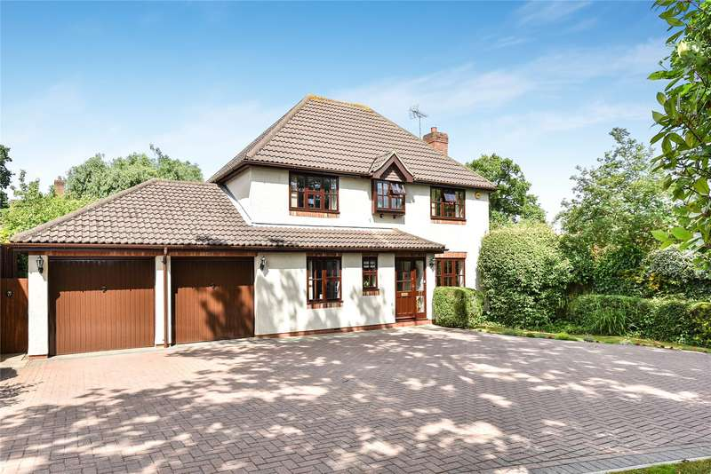 4 Bedrooms Detached House for sale in Holly Spring Lane, Bracknell, Berkshire, RG12