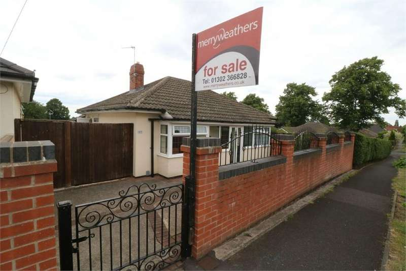 2 Bedrooms Detached Bungalow for sale in The Grove, Wheatley Hills, DONCASTER, South Yorkshire