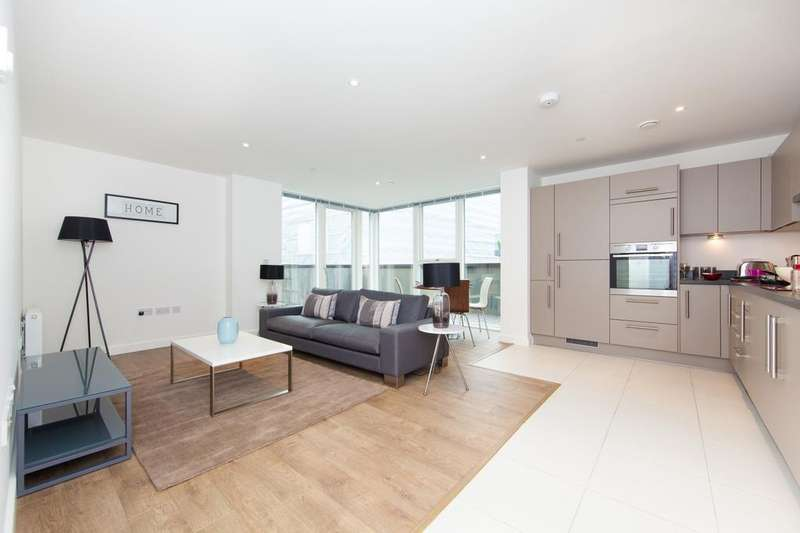 2 Bedrooms Apartment Flat for sale in Greenwich Peninsula, Platium Riverside, Greenwich SE10