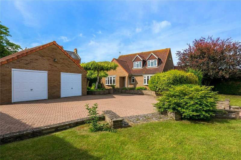 3 Bedrooms Detached House for sale in Captains Hill, Leasingham, Sleaford, Lincolnshire, NG34