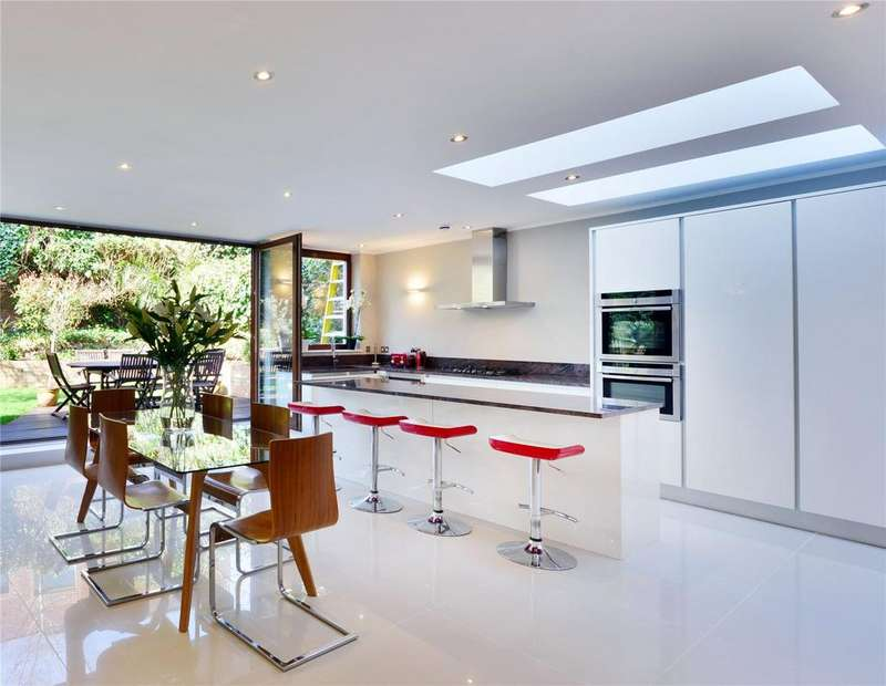 6 Bedrooms Terraced House for sale in Lyncroft Gardens, West Hampstead, London, NW6