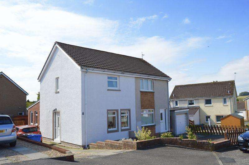2 Bedrooms Semi-detached Villa House for sale in Whitehill Way, Coylton