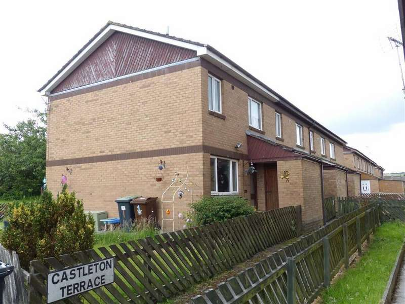 2 Bedrooms End Of Terrace House for sale in Castleton Terrace, Gamesley, Glossop