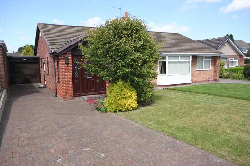 2 Bedrooms Semi Detached Bungalow for sale in Pendragon, Great Lumley, Chester-le-Street DH3 4NA