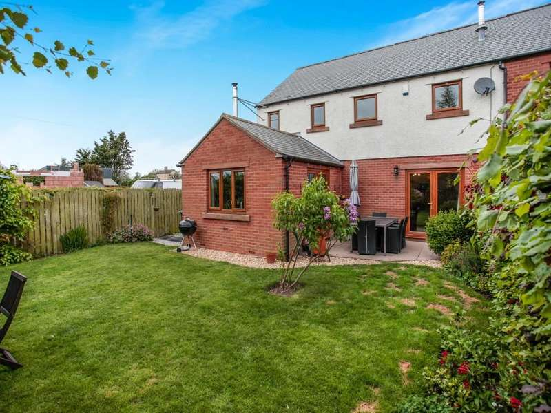4 Bedrooms Semi Detached House for sale in Wheatsheaf Court, Abbeytown, Wigton, CA7