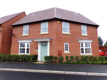 4 Bedrooms Detached House for sale in Alfred Belshaw Road, Queniborough, Leicester, Leicestershire