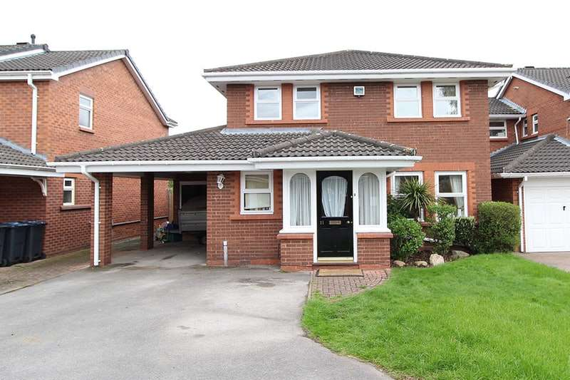 4 Bedrooms Detached House for sale in Shottery Close, Sutton Coldfield, West Midlands, B76