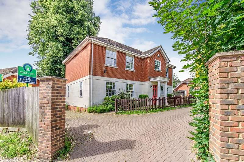 4 Bedrooms Detached House for sale in Grosvenor Court Oakwood Park, Maidstone, ME16