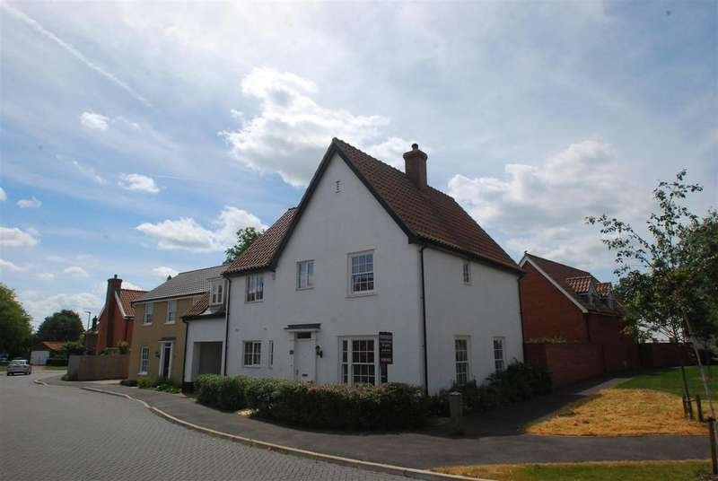 4 Bedrooms Detached House for sale in Watsons Way, Barrow, Bury St. Edmunds