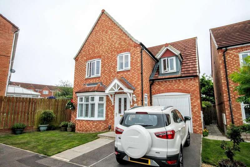 4 Bedrooms Detached House for sale in Maltby Court, Darlington