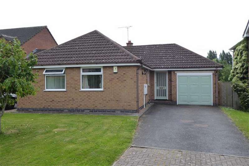 2 Bedrooms Detached Bungalow for sale in Mill Drive, Ratby