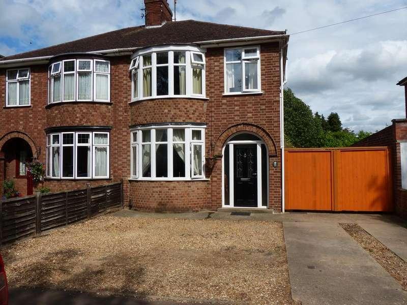 3 Bedrooms Semi Detached House for sale in Fane Road, Walton, Peterborough PE4