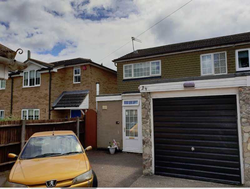 3 Bedrooms Semi Detached House for sale in Holtsmere Close, Garston Watford
