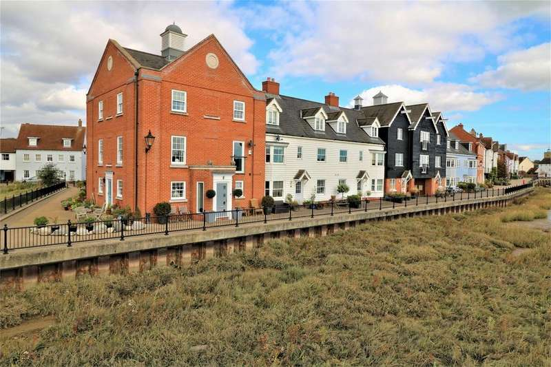 3 Bedrooms Town House for sale in West Quay, Wivenhoe, Colchester, Essex