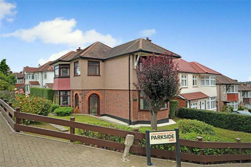 4 Bedrooms Detached House for sale in Park Side, Dollis Hill